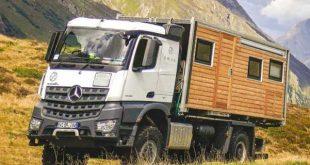 BUMO dev kamyonları doğal karavan haline getiriyor 1