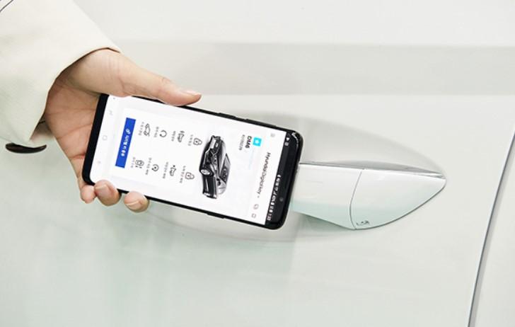 Hyundai NFC destekli dijital anahtar kullanmaya başlayacak 4